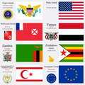 world flags and capitals set 27