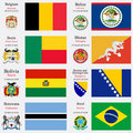 world flags and capitals set 3