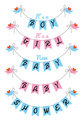 cute baby shower, vector design