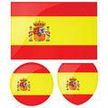 Spain flag and emblem