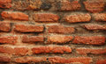 Red brickwork close-up