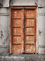 Old wooden door - Indian architecture