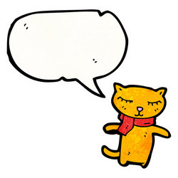 Image result for cat speech bubble clipart