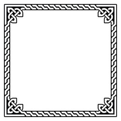 celtic frame border pattern vector stock vector rh cutcaster com celtic vector border designs celtic border clipart vector