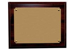 blank award plaque template .