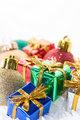 Xmas ornaments and presents