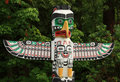 Native Totem Pole, Vancouver BC Canada.