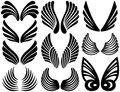 Stylized Angel Wings