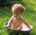 Summer Baby Bath