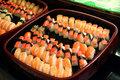 Sushi arrangement