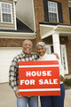 Couple selling house.