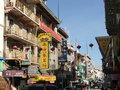 San Francisco Chinatown Street Scene