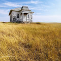 Old abandoned house.