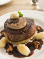 Tournedos Rossini with Cocotte Potatoes