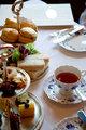English tea with bread