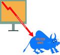 Vector World Stock Market Crisis