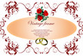 Wedding or Valentine`s day card