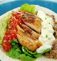 Open Chicken Tortilla