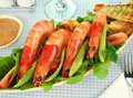Shrimp And Rocket Salad