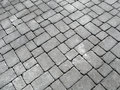 Close up of cobblestones on an old English road.