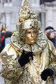 Golgen carnival dress
