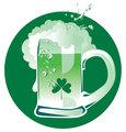 Green Patrick's beer