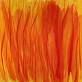 Fire flames, red and yellow watercolor background
