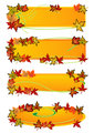 Fall Leaf Banners