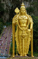 Lord Murugan statue Batu Caves