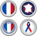 France Buttons