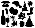 Christmas silhouette collection 03
