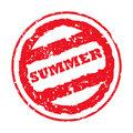 Summer passport stamp