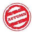 Autumn Stamp