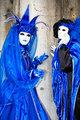 Blue princess in Venice