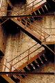 Fire stair