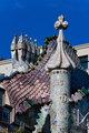 Detail of Casa Batllo, Barcelona
