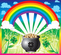 St. Patrick's Day Rainbow