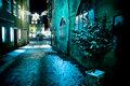 Coburg at night