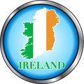 Ireland Round Button