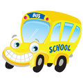 Vector - Isolated yellow school bus
