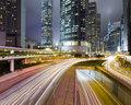 Traffic through downtown in HongKong