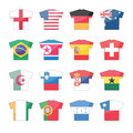 Countries flags icons - set 2 of 2