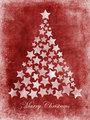 Marry Christmas tree stars grunge