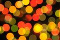 Multi coloured sparks