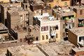 Slum dwellings in Cairo Egypt