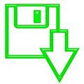3D Download Button