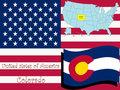 Colorado state illustration