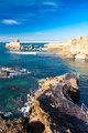 Coast of Biarritz, France