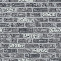 Grungy Brick Pattern in Grays