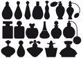 Perfume bottles, vector